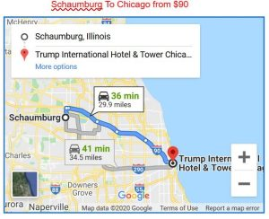 Schaumburg To Chicago Limo Service
