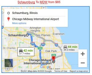 Schaumburg To Midway Limo Service