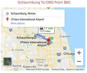 Schaumburg To O'Hare Limo Service