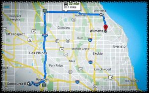 Wilmette To O'Hare Limo Service