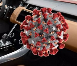 germs in car