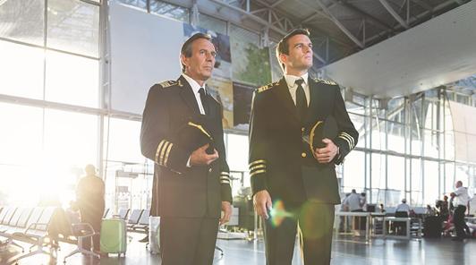 2 airline-pilots
