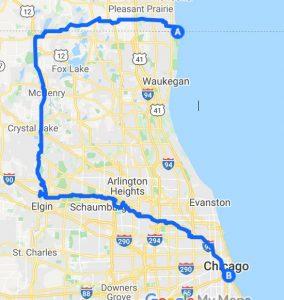 Dog walking Chicago service areas