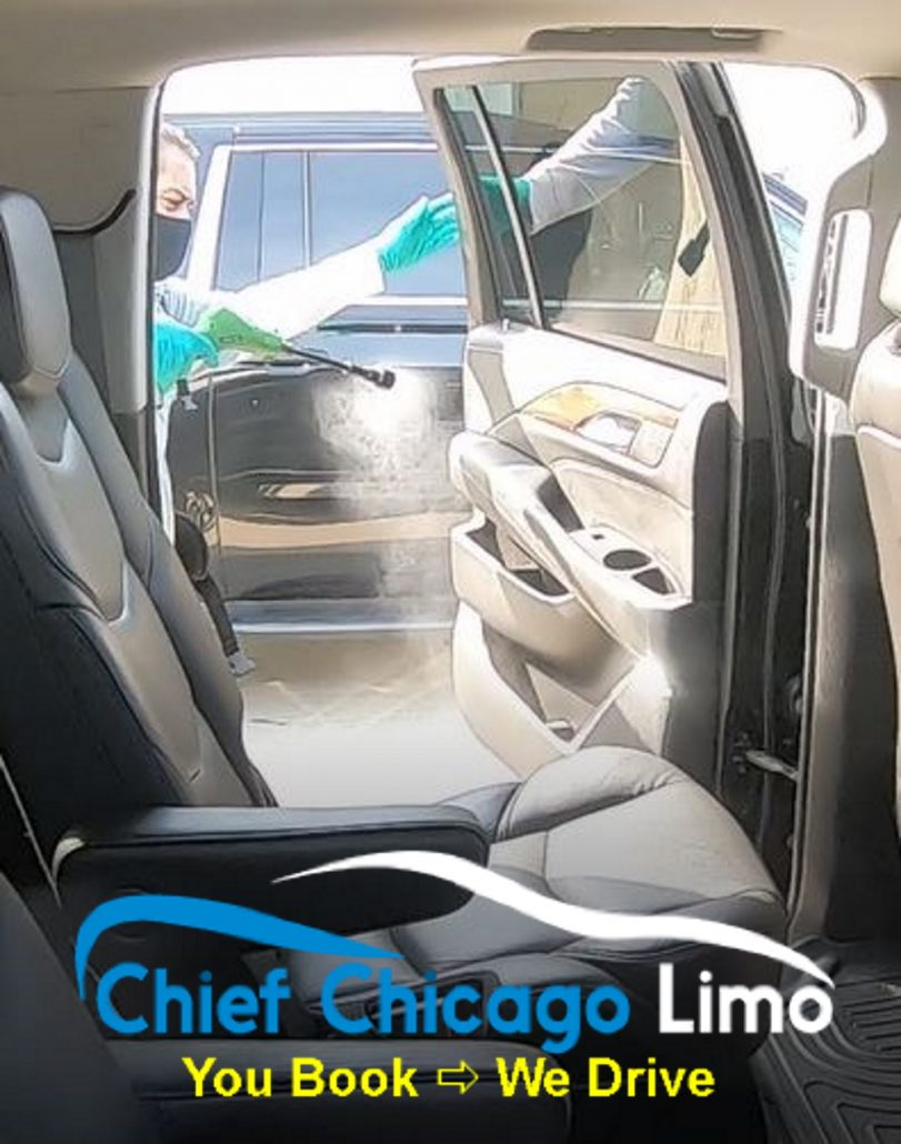 COVID-disinfection-on-limos-in-chicago