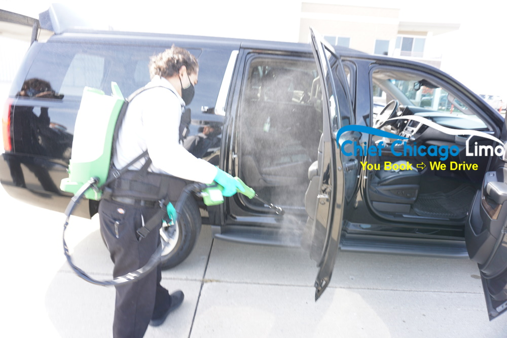 car-door-disinfection-for-covid19-on-limousines-in-chicago